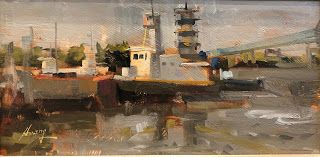 """Lost Tugboat"" -- Sold"