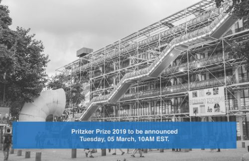 Pritzker Prize 2019 To Be Announced Tuesday March 5th