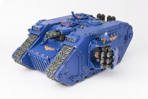 WIP: Ultramarines Land Raider Crusader 3