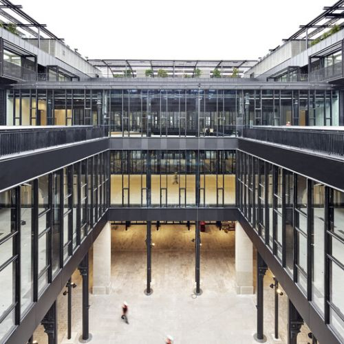 La Poste du Louvre Renovation / Dominique Perrault Architecte
