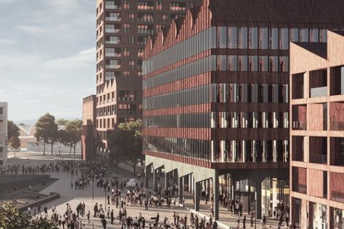 COBE Set to Transform Bremen's Harbor in Germany