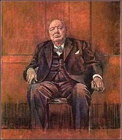 A Graham Sutherland Churchill Portrait Survivor