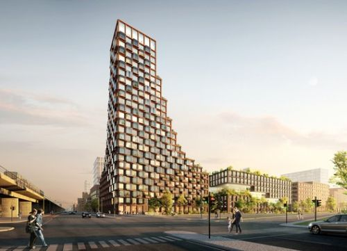 Third Nature and Lendager Group Design Upcycled High-Rise for Copenhagen