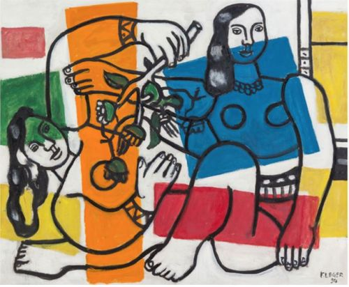 Fernand Henri Léger. born on Feb 4, 1881