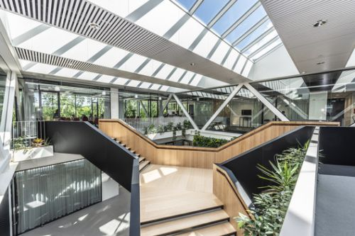 Besix Dordrecht Offices / RoosRos Architecten