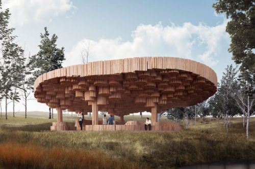 Francis Kéré Designs a Wooden Art Pavilion for Tippet Rise