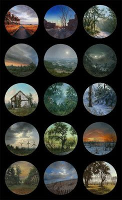The collection of series of Miniature Paintings from different parts