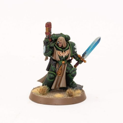 Showcase: Dark Angels Primaris Lieutenant
