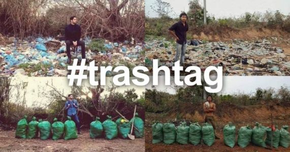 Trashtag is a Viral Photo Fad Making the World a Cleaner Place