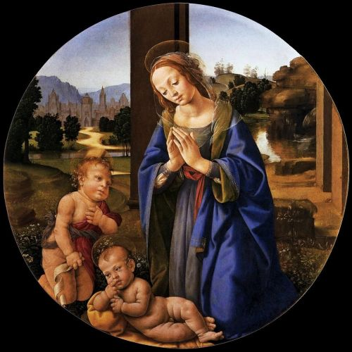 Madonnas attributed to Lorenzo di Credi c 1459-1537