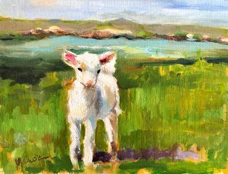 Little Lambs Eat Ivy - SOLD