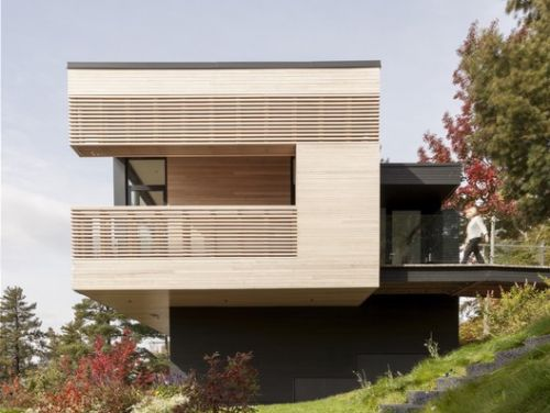 Residence Le Nid / Anne Carrier Architecture