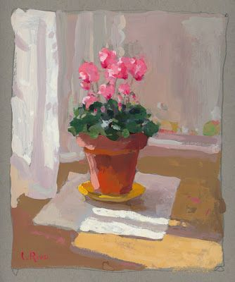 """Cyclamen in Sunlight"""