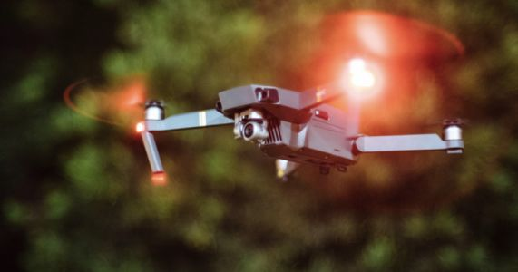 Man Faces $250K Fine, Prison Time for Hitting Police Helicopter with Drone