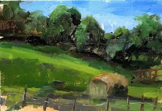 Sunny Pasture by artist Pat Meyer