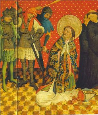 Fifth Day of Christmas: Optional Memorial of St. Thomas Becket