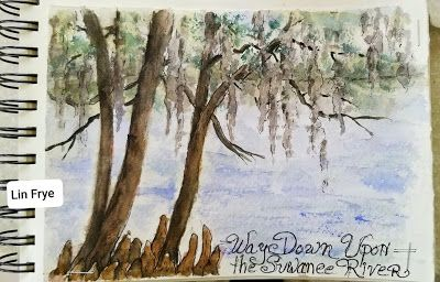 Travel Journal - Way Down Upon the Suwanee River.Lin Frye