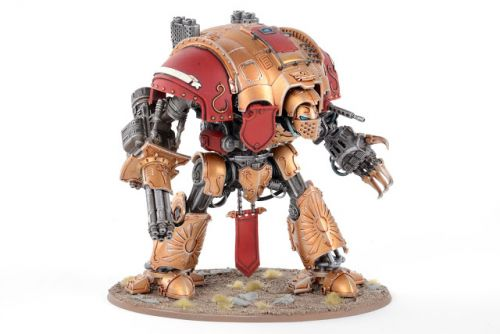 Showcase: Custodes themed Imperial Knight by ComradeQuiche