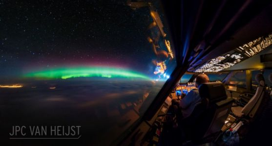 Long Exposure Photography from the Cockpit of a 747