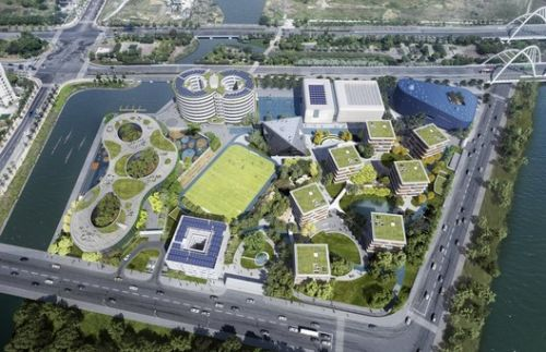 OPEN Architecture Designs a Village for Learning in Shanghai