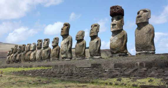 Easter Island Statues Threatened by Nose-Picking Selfie Shooters