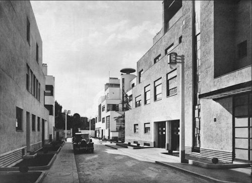The rue Mallet-Stevens Then and Now