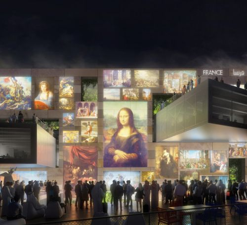 Clément Blanchet and AREP Design French Pavilion for Expo 2020 Dubai