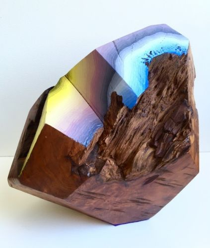 Crossconnectmag: Geometric Wooden Gems by Victoria