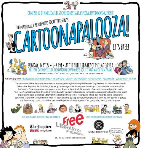Huge Cartoonist Meet and Greet In Philly!