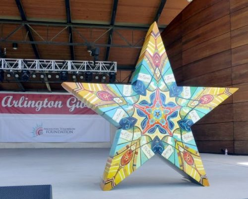 Star of Texas, Art Project Sponsored by the Arlington Museum of Art