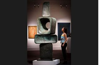 Barbara Hepworth. Born on this day in 1903