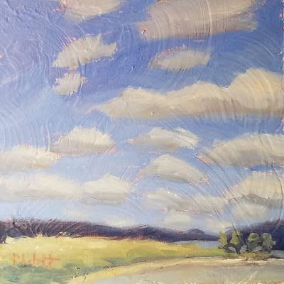 Contemporary Landscape Art Original Oil Painting Heidi Malott