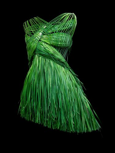 Edible Apparel by Sung Yeonju Turns Vegetables into Cocktail Dresses