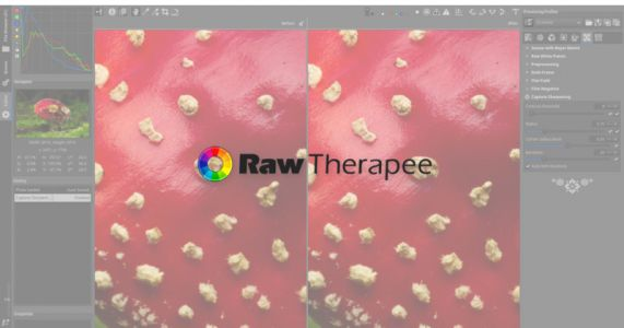 Free Editing Software RawTherapee Adds Impressive 'Capture Sharpening' Feature