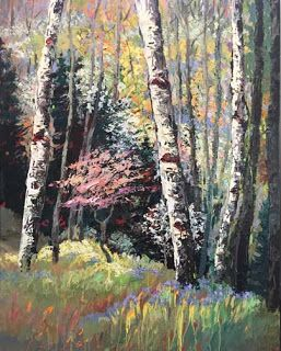 """New """"Evolving Seasons"""" Painting by Contemporary Impressionist Niki Gulley"""