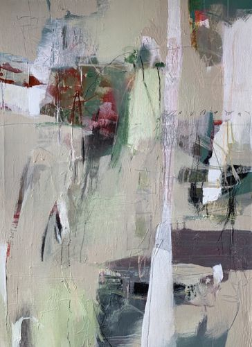 """Abstract Art, Contemporary Painting, Fine Art For Sale """"Rising Threshold"""" by Intuitive Artist Joan Fullerton"""