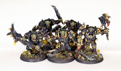 Showcase: Ironjawz Orruk Brutes by Forest