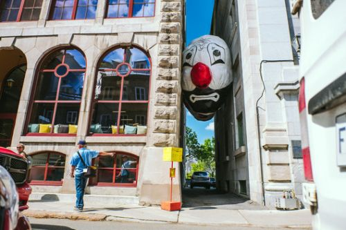 Public Art Exhibition on the Streets of Quebec