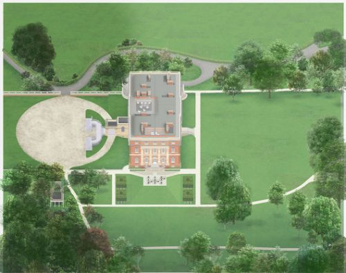 Allies and Morrison Wins Competition to Restore and Renovate Clandon Park Mansion in Surrey