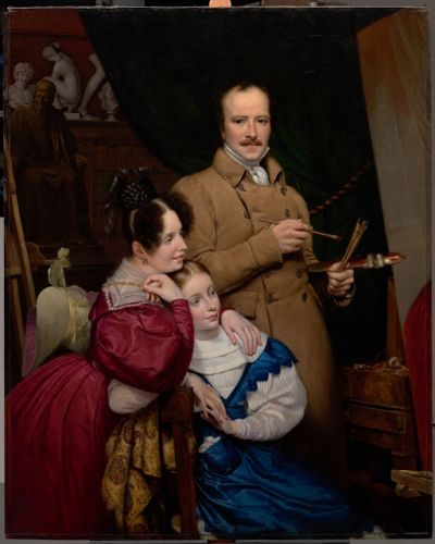 Self-Portrait with Family in the Artist's Studio