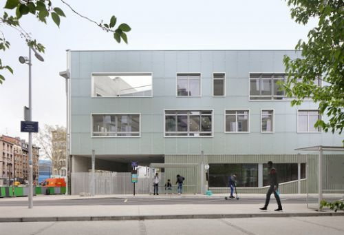 High School in Boulogne / Mikou Studio