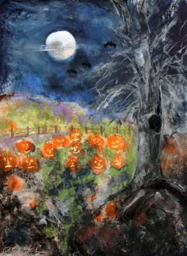 HALLOWEEN PUMPKIN PATCH, by Carol Engles