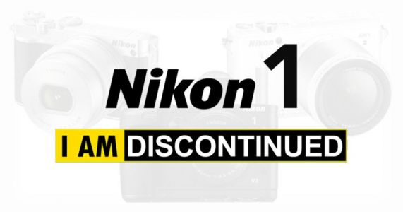 Nikon 1 Mirrorless Cameras Are Now All Officially Dead