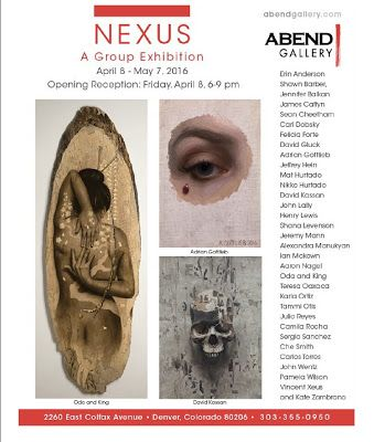 Nexus Opening at Abend Gallery in Denver, CO