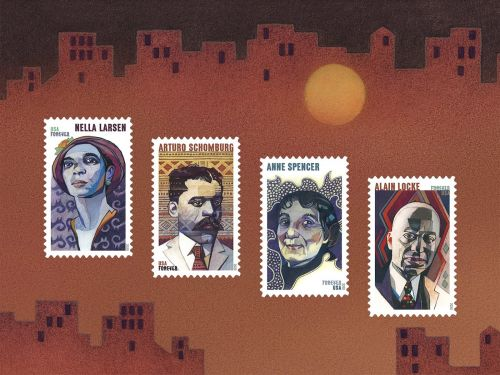 Prominent Figures of the Harlem Renaissance Featured on New USPS Stamps