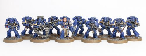 Showcase: Ultramarines Tactical Squad I