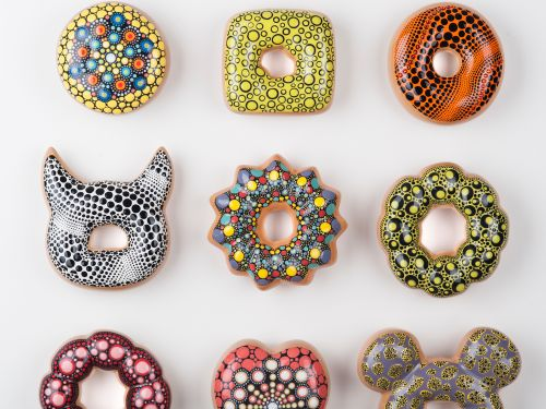 Donut Worry Be Happy: Pop Culture References on Expertly Glazed Ceramic Donuts by Jae Yong Kim