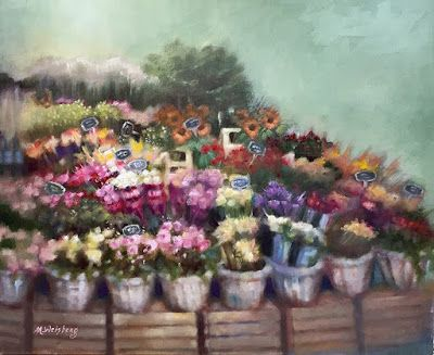 Contemporary Still Life Fine Art Floral Painting