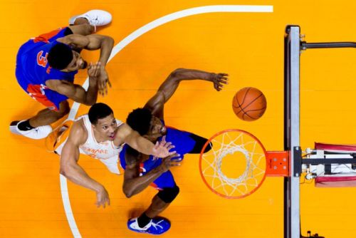 Shooting Overhead Action Photos of Tennessee Basketball