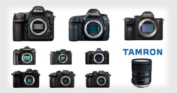 Giveaway: Win Your Choice of Camera, a Tamron 24-70mm Lens, and More!